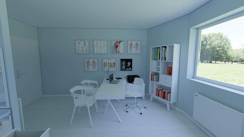 décoration cabinet médecin