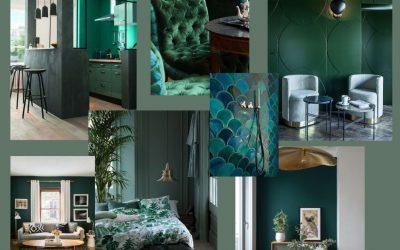 Le Vert en Décoration